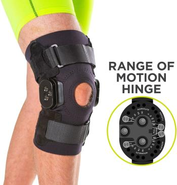BraceAbility Torn Meniscus ROM Knee Brace