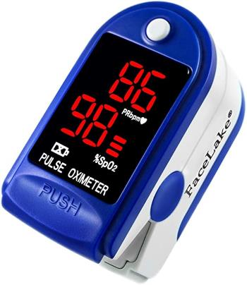 Facelake FL400 Pulse Oximeter with Carrying Case