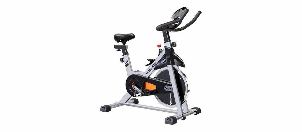 stationary spin bike