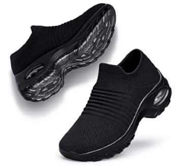 Belilent Womens Walking Shoes Slip on